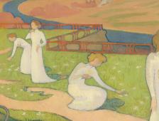 Maurice Denis, Avril (détail), 1892 © Otterlo, Collection Kröller-Müller Museum