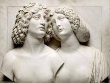 Tullio Lombardo, Jeune Couple (Bacchus et Ariane) © Kunsthistorisches Museum, Vienne