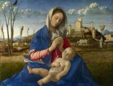 Giovanni Bellini, Madonna del Prato, 1500-15005 Londres, National Gallery